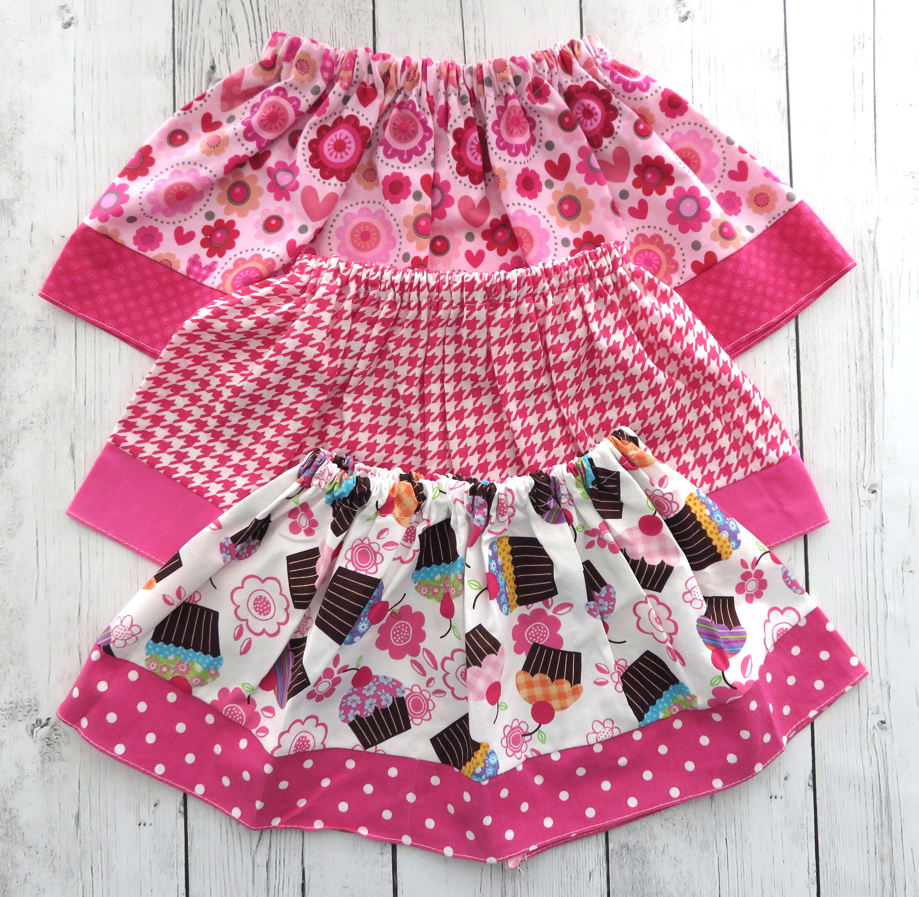 LAST ONE! - Hot Pink Skirts for baby girl in Clearance Sale - cupcake skirt, sweet one birthday, baby girl skirt, 1st birthday skirt