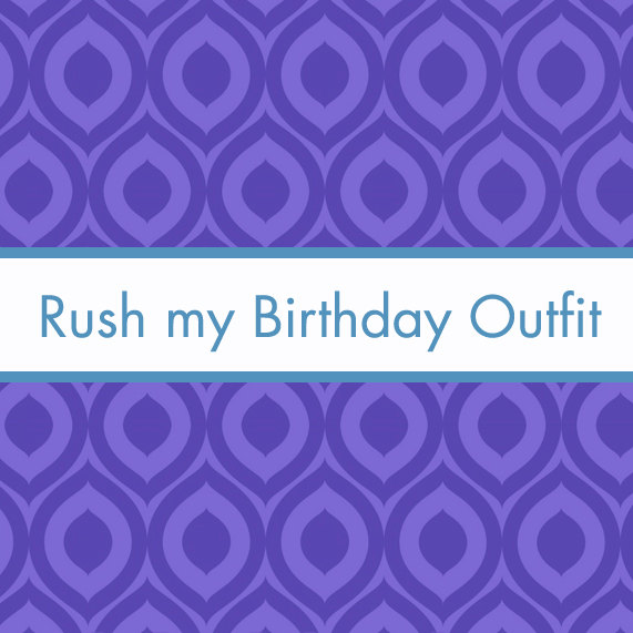 Rush Listing - 10 - for First Birthday Outfits